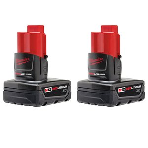 Milwaukee 48-11-2412 M12 XC Battery 2 Pack
