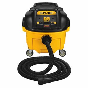 DEWALT DWV010 Wet/Dry HEPA/RRP Dust Extractor, 8 Gallon