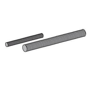 "Power-Strut PS146-3/8X10-EG All Threaded Rod, Zinc-Plated, 3/8"" x 10'"