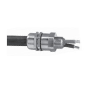 Appleton 40PX1255 Cable Gland, Size: 40, Metric: M40, Nickel Plated Brass