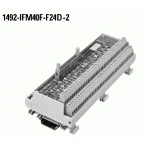 Allen-Bradley 1492-IFM40F-F24D-2 Interface Module, Digital, Fusible, 16 Point, 24V AC/DC, BFI