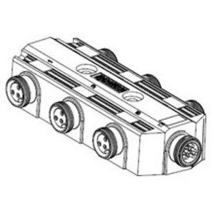 Woodhead 410P601 MC MPIS 6/3P FR W/9P MR