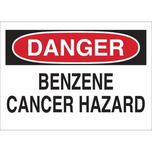 22725 CHEMICAL & HAZD MATERIALS SIGN