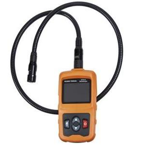 Klein ET510 Borescope, Batteries, Lithium Ion, Features: Waterproof, Dustproof, Adjustable LED Light.