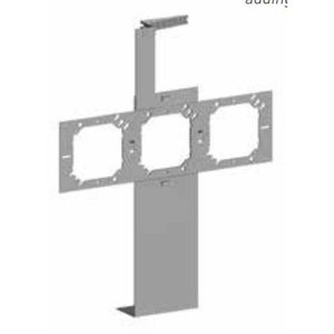 Cablofil F318 Floor Bracket, 3-Gang