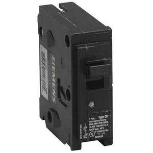 Siemens Q115 Breaker, 15A, 1P, 120/240V, 10 kAIC, Type QP