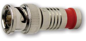 Platinum Tools 18035 BNC RG6Q COMPRESSION NICKEL PL. (BULK 1EA.) PKG 2