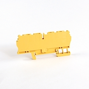 Allen-Bradley 1492-L3Q-Y Terminal Block, 25A, 600V AC/DC, 2 Connection Side, Yellow, 2.5mm