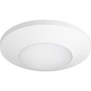 HomeStyle Lighting HSFM7-WH-30K9 LED Ceiling Mount Luminaire, 15W, 850L, 3000K, 120V, White