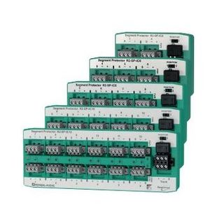 Pepperl Fuchs R2-SP-IC8 Segment Protector, Bus Powered, Fault Tolerant, Coupler, 8 Outputs