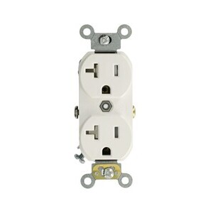 TCR20-W WH REC DUP TR 5-20R 20A125V