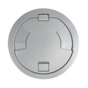 """Wiremold 8CTC2AL Surface Style Cover Assembly, Diameter: 8"""", Aluminum"""