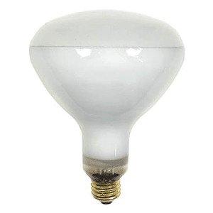 Candela 250R40/1/STG-120V Incandescent Heat Lamp, Shatter-Resistant, R40, 250W, 120V, Clear