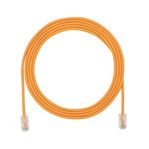 Panduit UTP28CH3OR Copper Patch Cord, Cat 5e (SD), 28 AWG,