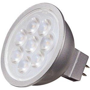 Satco S9496 SATCO S9496 - 6.5 watt; LED MR16 LED; 3000K; 40' beam spread; GU5.3 base; 12 volts