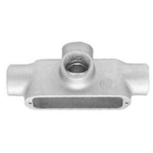 "Appleton TA100-M Conduit Body, Type TA, 1"", Form 35, Malleable Iron"