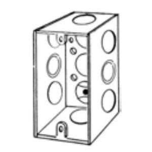"Appleton 4SSLEK Handy Box, Deep, Welded, 2-18"""