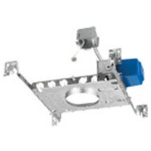 Lightolier 3401MREX Non-IC Housing, Frame-In Kit, Remodel, 3-3/4""
