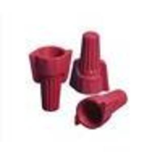 NSI Tork WWC-R-C winged Red Easy Twist, 18-8 Awg - Carton Of 100