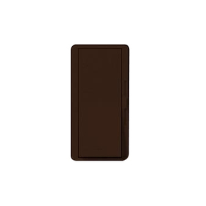 Lutron DV-603P-BR Slide Dimmer, Decora, 600W, 3-Way, Diva, Brown