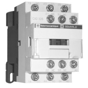 Square D CAD326BD RELAY 600V 10AMP TESYS +OPTIONS