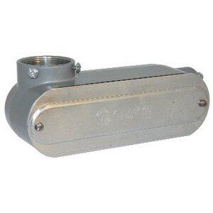 "Bizline BZLOLL6CG Conduit Body, Type LL, 2"", Aluminum, Form 5, Cover/Gasket Included"