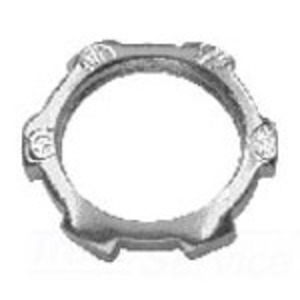 "Cooper Crouse-Hinds 15 Locknut, Size: 1-1/2"", Material: Steel"