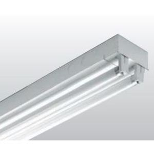 H.E. Williams 76-8-432-QS-EB4*AD-BD-UNV Strip Fixture, 8', 4-Lamp, 32 Watt, T8, 120-277V Ballast