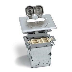 Lew SWB-4PQ-LR-A Flip Lid Quad Box W/dplx & 4port Com