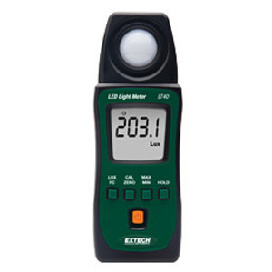 Extech LT40 LED Light Meter, LCD Display