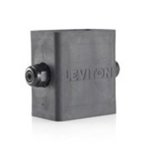 Leviton 3099F-1E Portable Outlet Box, Extra Deep, Feed-Through Type