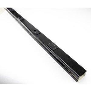 Wiremold BK20GB606TRGFI6 Black Tamper-resistant GFCI