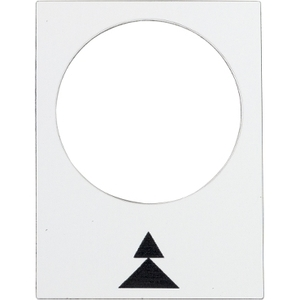 ZB2BY4909 LEGEND PLATE FOR PENDANT CONTR