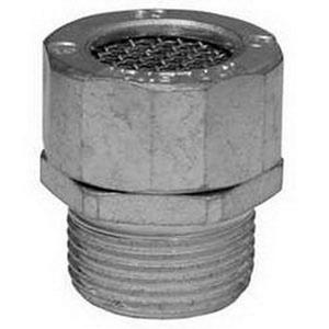 """Appleton CRN75S Non-Hazardous Location Drain, 3/4"""", Raintight, Steel"""
