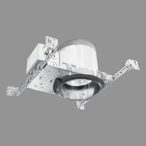 "Elite Lighting B6-LED-1200L-DIM10-MVOLT-MD-35K-85-AT 6"" New Construction Non-IC LED Housing, 1200 Lumen, 120/277V"