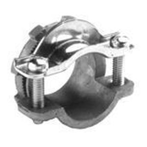 """Bridgeport Fittings 660-DC2 NM Cable Connector, 3/4"""", 2-Screw Strap, Die Cast, Round Cable"""