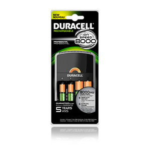 Duracell CEF15 Ion Speed 8000 Battery Charger