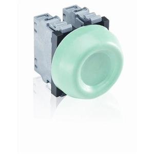 ABB KP6-40G Extreme Duty Pushbutton, Green