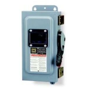 Square D HU367AWK Disconnect Switch, Non-Fusible, NEMA 12/3R, 800A, 3P, 600VAC, HD