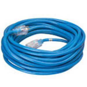 Coleman Cable 2468SW8806 15 Amp, 125V AC, All Weather Extension Cord, 14/3, Length: 50ft, Xtra Flex
