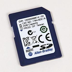 Allen-Bradley 1784-SD2 Memory Card, Secure Digital, 2GB,