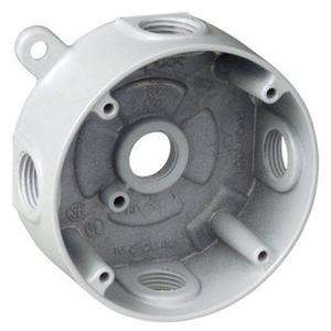 "Red Dot DS-48-WH 4"" RND 5HOLE,3/4"" HUB"