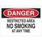 25089 NO SMOKING SIGN