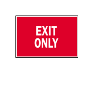 Brady 41058 DIRECTIONAL & EXIT SIGN