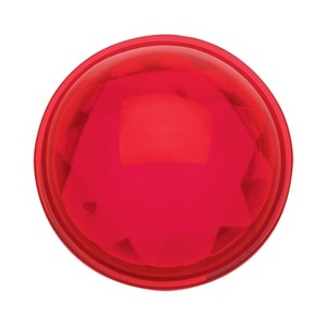 Pass & Seymour 405-RED Plastic Jewel for Single Receptacle Opening, Red, Style 7
