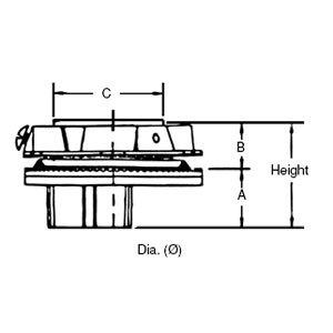 Thomas & Betts H250-200-ORGR-TB OFFSET HUB 2-1/2 TO 2