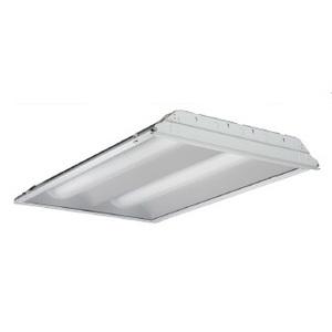 Lithonia Lighting 2RT5S14T5MVOLTGEB115LP835 Volumetric Fixture, 2', 2-Lamp, T5, 120/277V, 14W