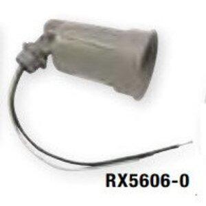 Bizline RX5606-0 Lampholder, Metallic, Gray