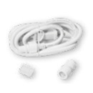 American Lighting LED-DL-CONKIT Rope Light Non-UL Power Cord Connector Kit, 5', 1.6A, 120V