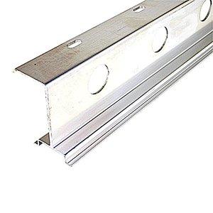 Entrelec XUS001735 DIN Rail, Aluminum, 35mm x 7.5mm x 57.4mm x 1m, Raised